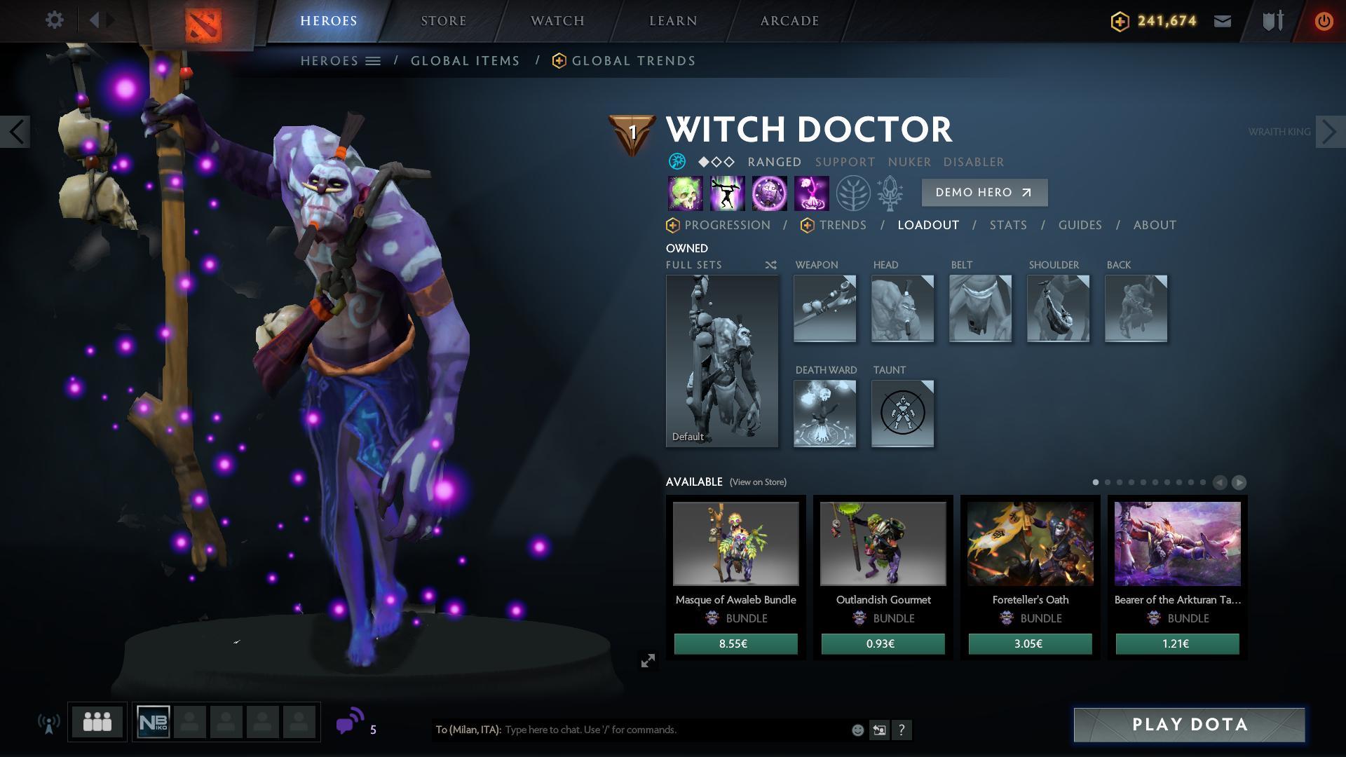 Reddit Dota 2 On Twitter Vote For Witch Doctor Arcana Https T