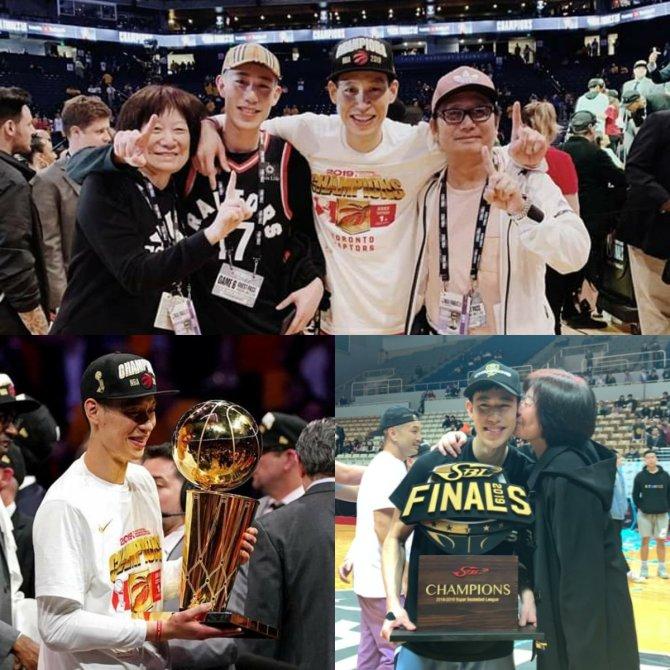 RT @manu77728 Congrats Jeremy Lin & Joseph Lin won Champions in the same season🏆🏆🎉🎉🎉