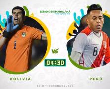 Xem lại: Bolivia vs Peru