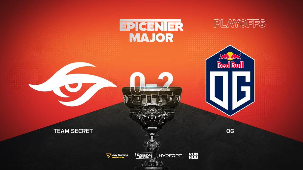 Team Secret vs OG EPICENTER Major 2019
