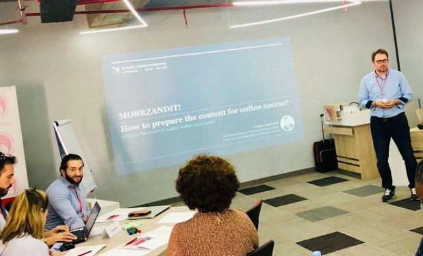 test Twitter Media - Project meeting #MOCat_NAVAproject at the University of Georgia.  @jankowskit teaching about How to prepare the content for online course? @margretthora @aujab @jakkalakki @kennslumidstod #menntaspjall https://t.co/jKUBKluBCZ
