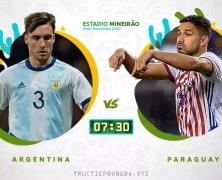Xem lại: Argentina vs Paraguay