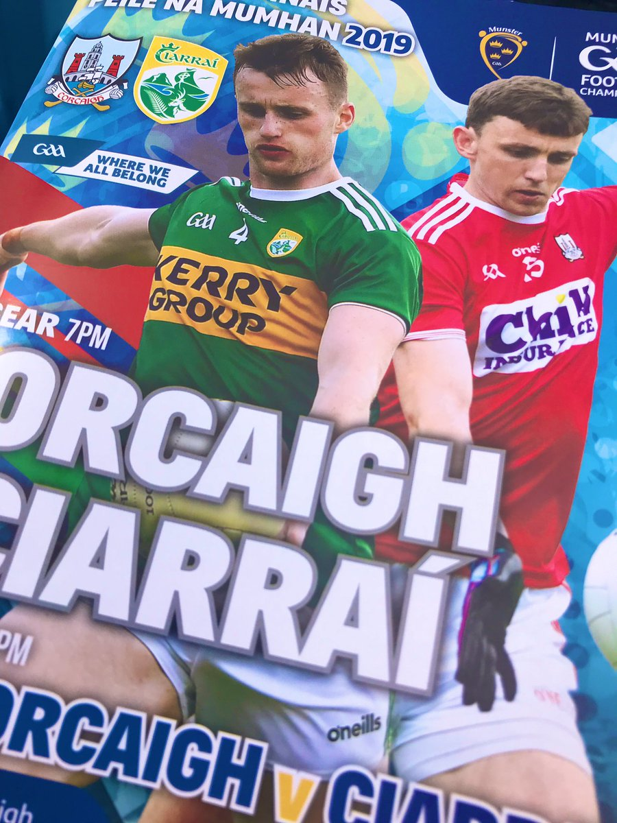 test Twitter Media - Today we are in Páirc Uí Chaoimh for the Munster Senior Football Final, it's Cork v Kerry throw in here is at 7pm watch us on RTE 2 https://t.co/1ThN07TZqa