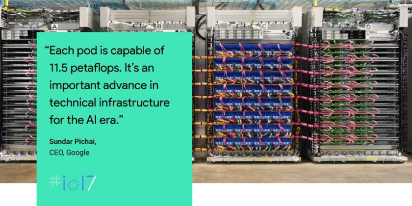 We want Google Cloud to be the best cloud for #AI