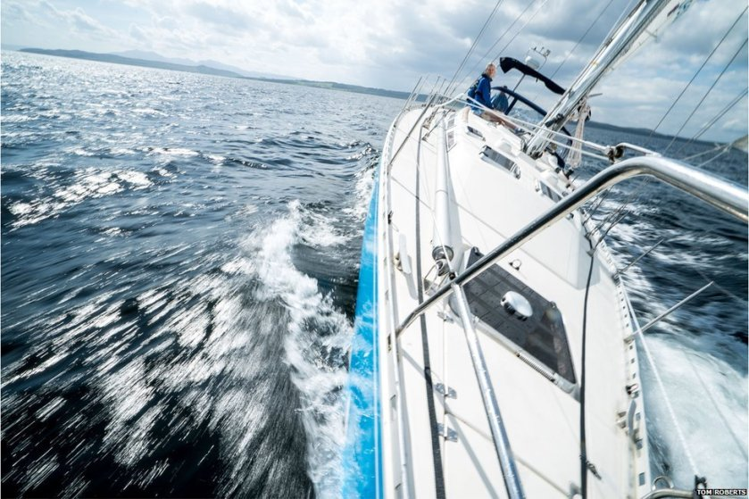 Sailing to a better future after childhood cancer