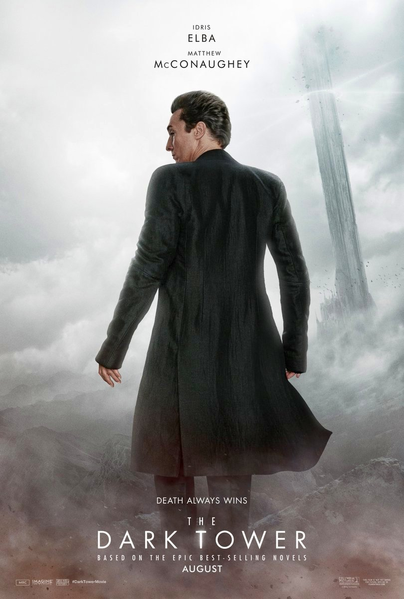 New The Dark Tower Character Posters