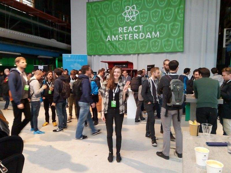 .@ReactAmsterdam 2017: Wish you were here!  #ReactJS