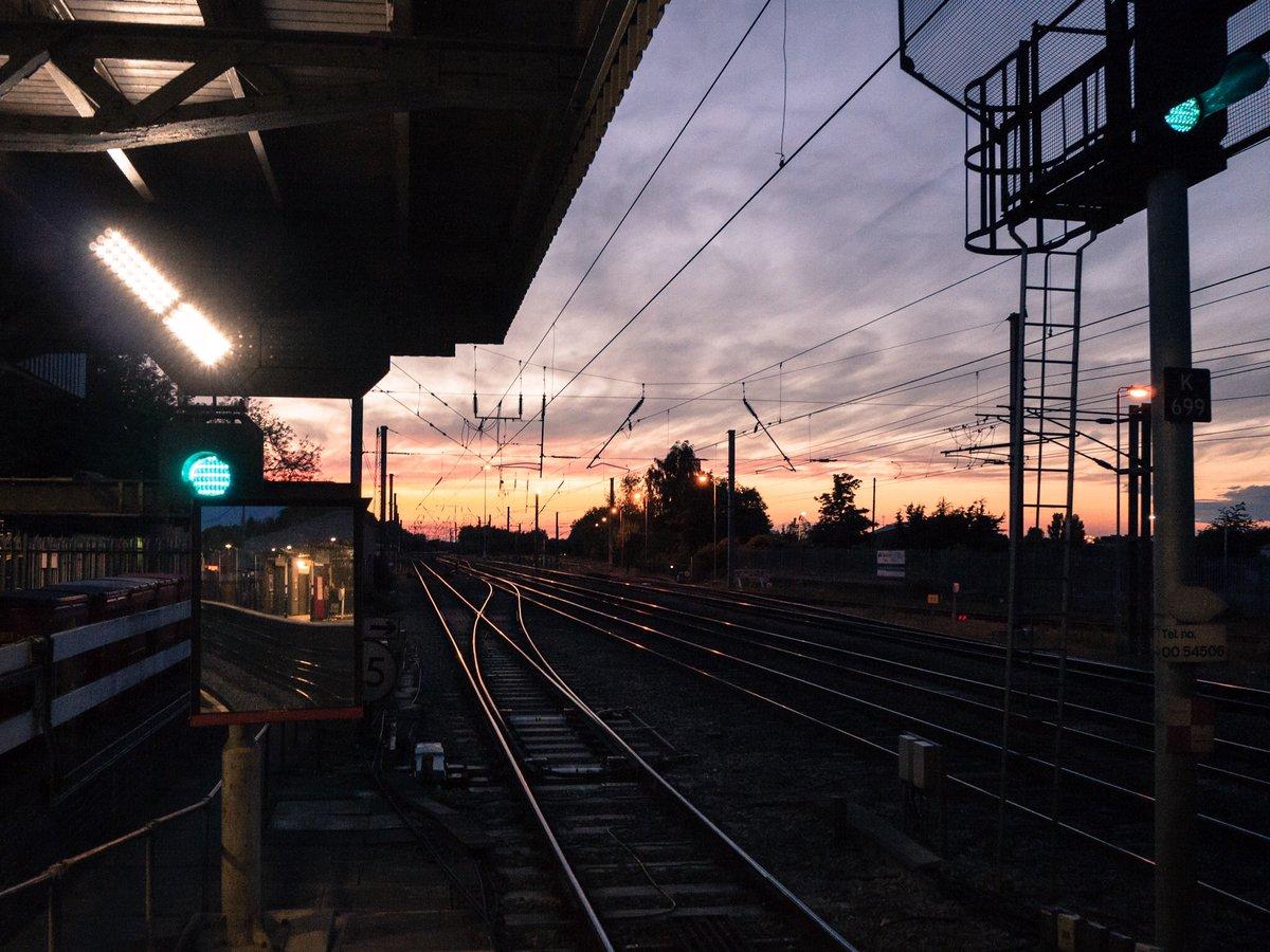 Glowing rails