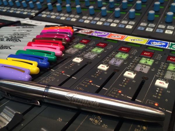 organizar sessão de mixagem