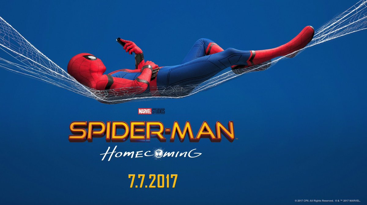 Image result for spiderman homecoming banner