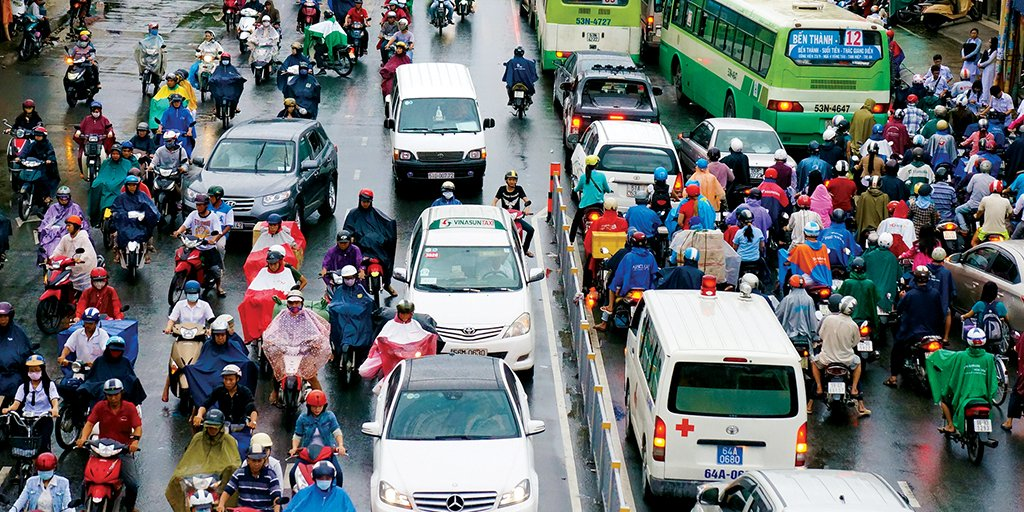 Vietnam experiments with a #BigData pilot #project aimed at cutting congestion. #PMNetwork