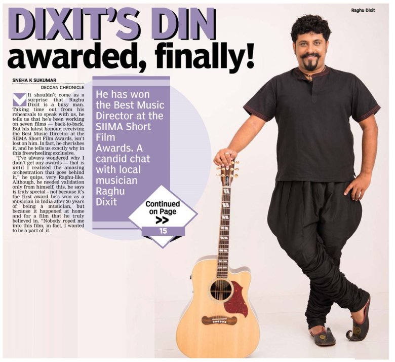 "sneha k sukumar on twitter: "".@raghu_dixit tells us why his latest"