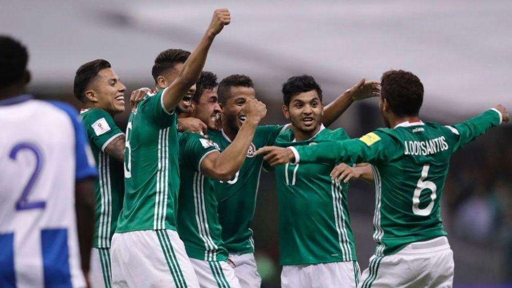 México vs Honduras: Celebrando los goles