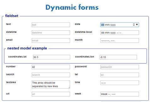 angular-dynamic-forms   Module to build forms from #JSON schemas  #AngularJS #javascript