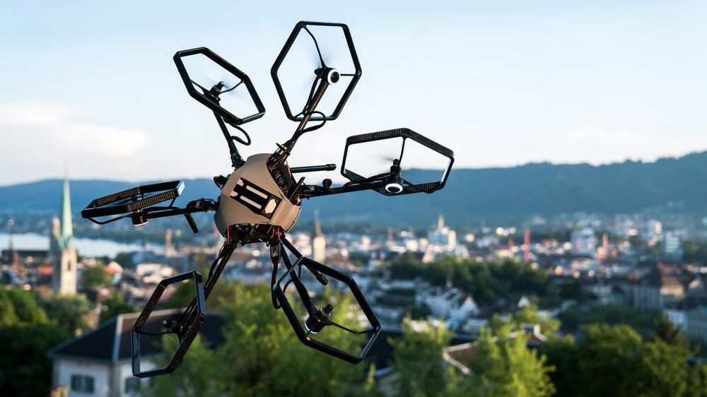 Tilt-rotor hexacopter puts a new twist on #drone orientation on @nwtls  #drones