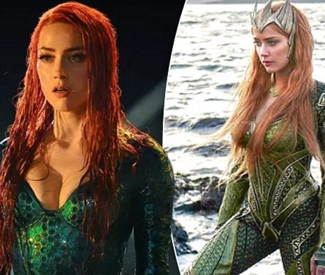 Amber Heards Aquaman Costume Was So Tight She Couldnt Actually Sit Down Https