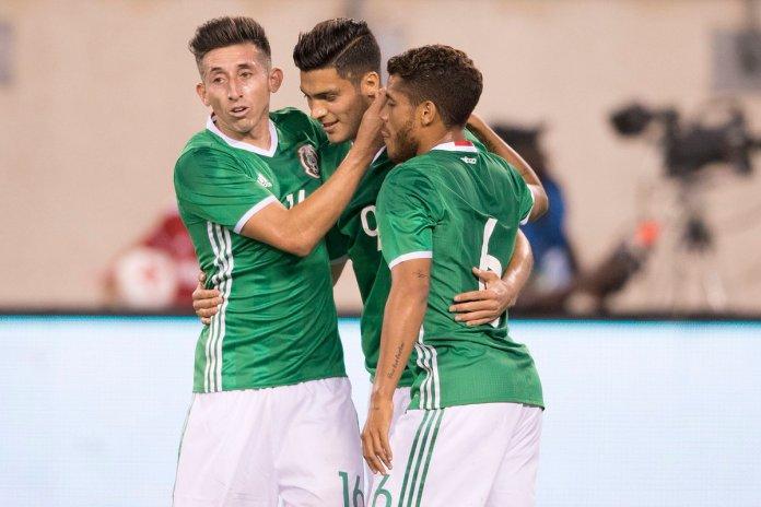 Goles de México vs Irlanda 2017