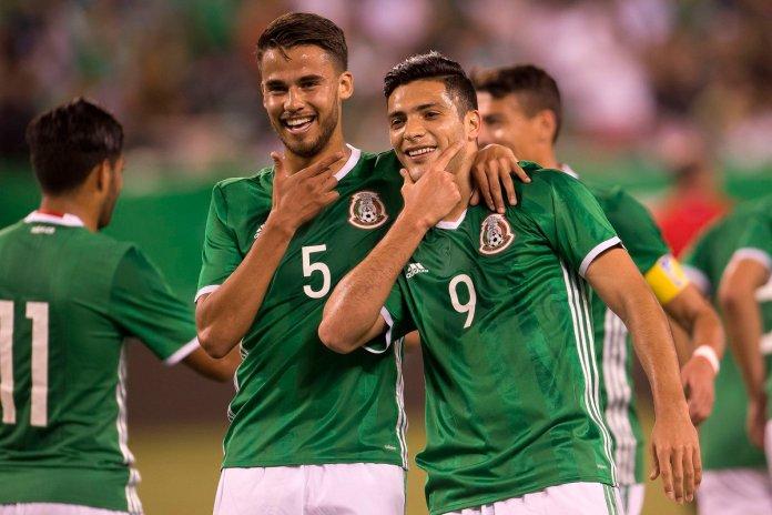 Goles México vs Irlanda.