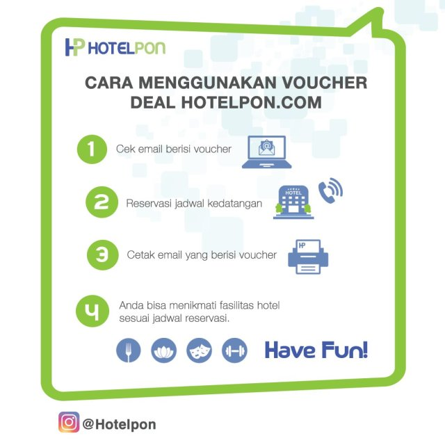 Cara Mengunakan Voucher HotelPon.Com