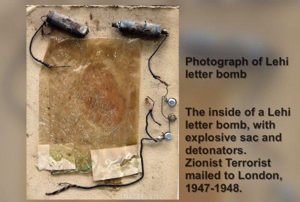 letter bomb # 18