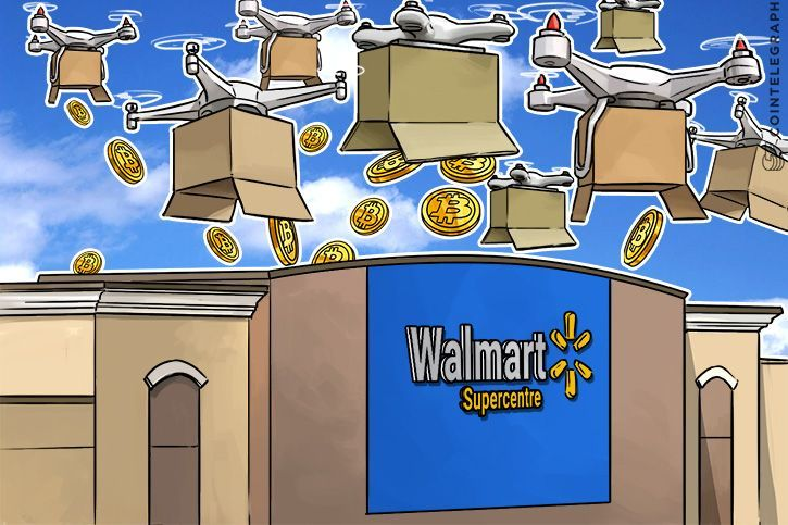 Walmart to Track Delivery #Drones With #Blockchain, Soon To Accept #Bitcoin?