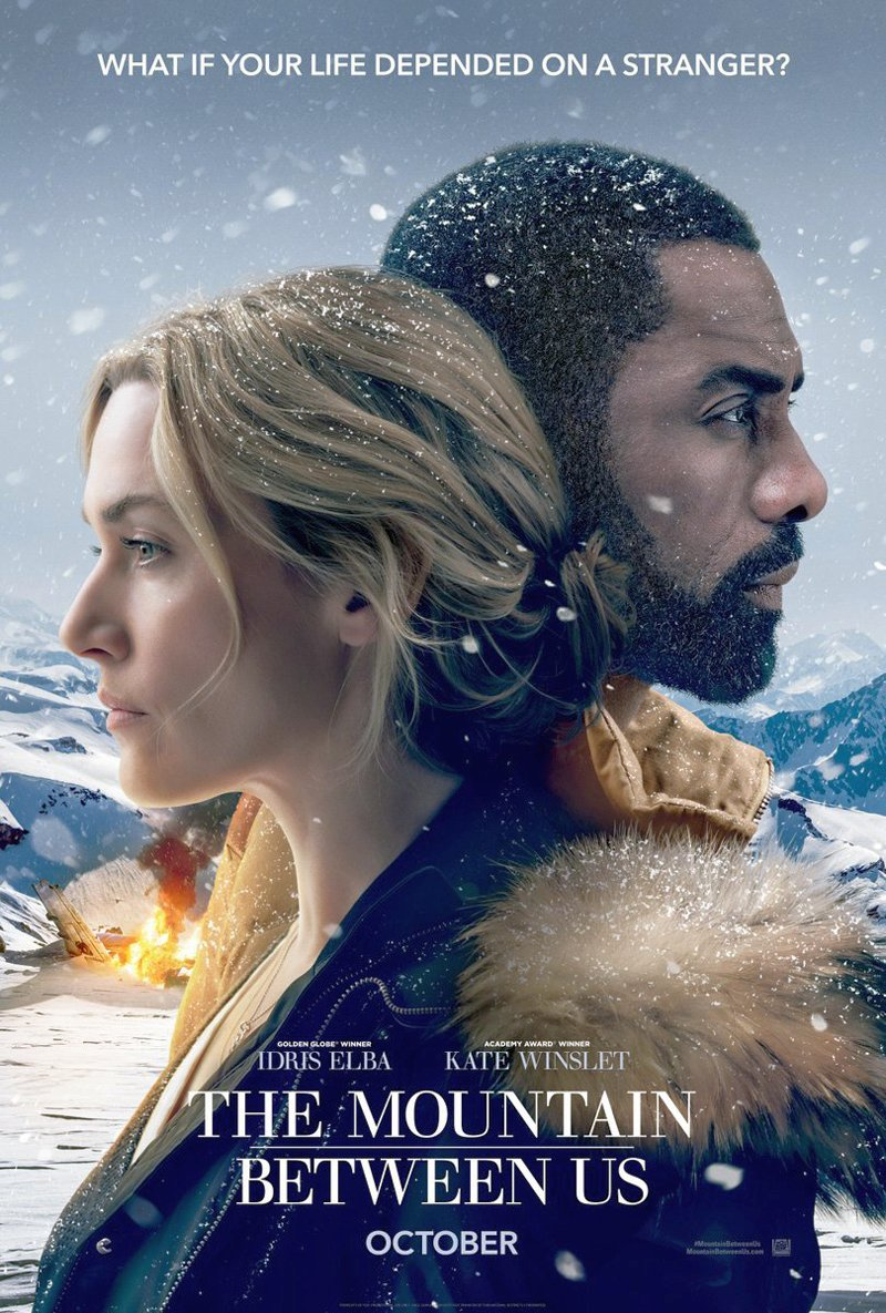 The Mountain Between Us Poster Featuring Idris Elba & Kate Winslet