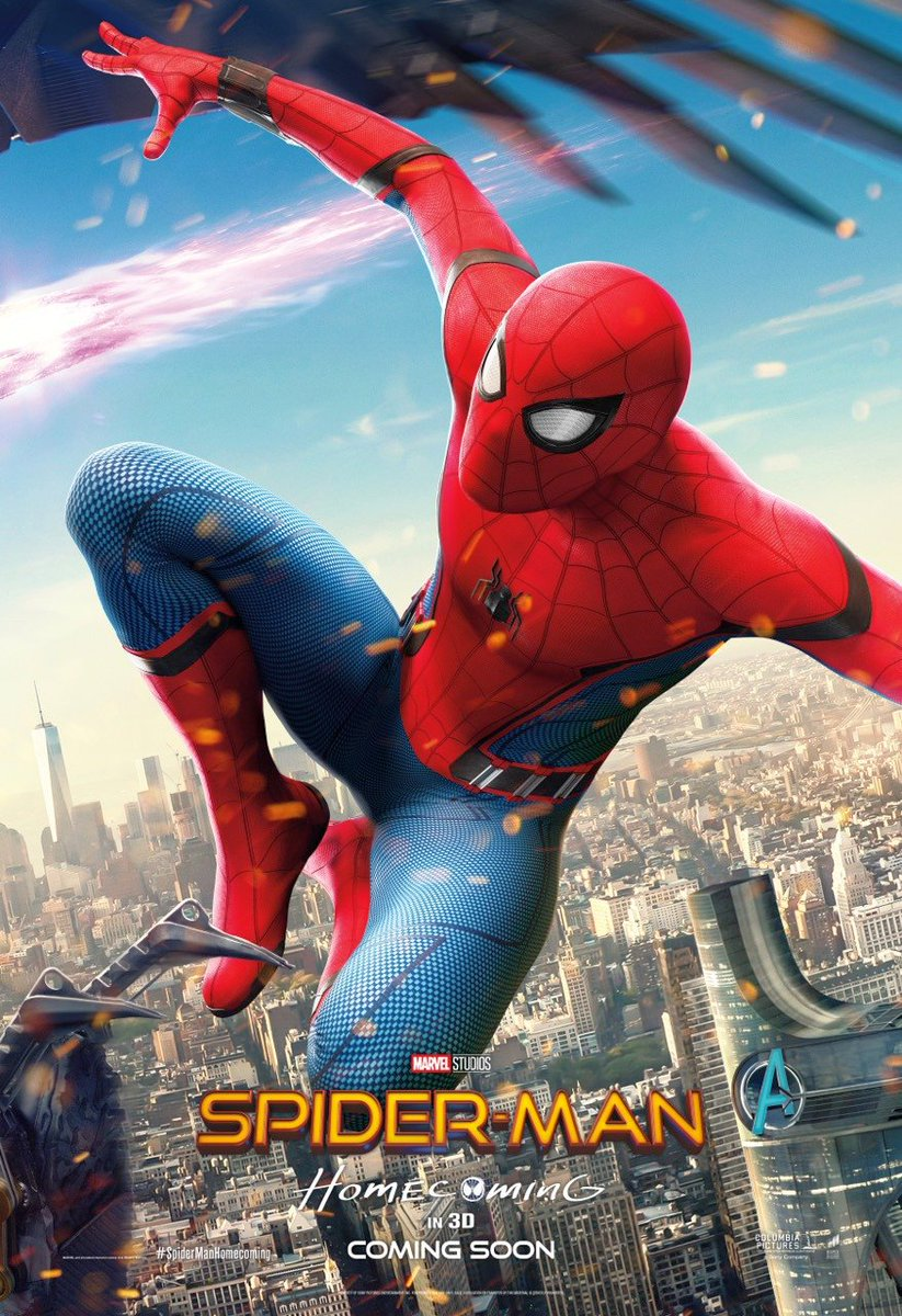 Spider-Man: Homecoming Character Poster