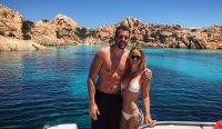 Caroline Wozniacki And David Lee Are Living The Italian Island Life