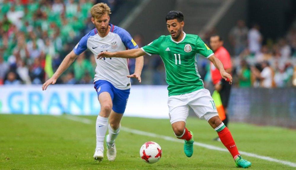 Goles de México vs Estados Unidsos 2017