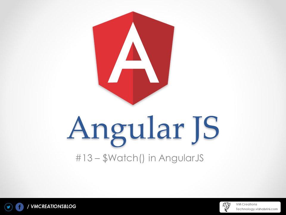 $watch in AngularJS