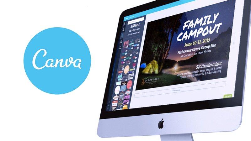 canva, software untuk desain banner