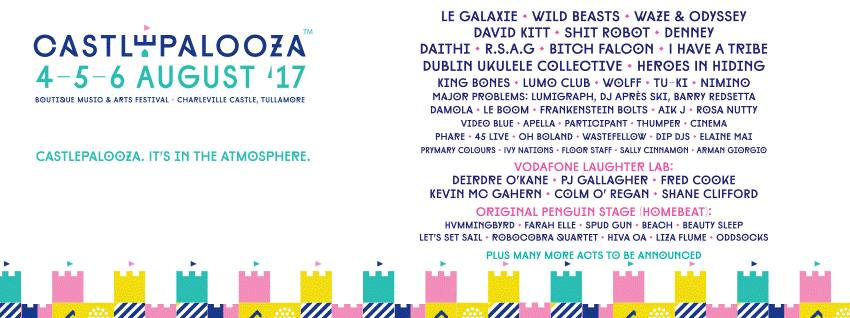 Playing @castlepalooza this August! See you in the fields 🌲🎸🌲 https://t.co/kNo5DHR5sL