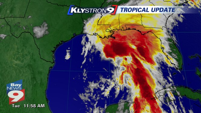 JUST IN: Tropical Storm Cindy has formed in the Gulf of Mexico.   @BN9weather with more: