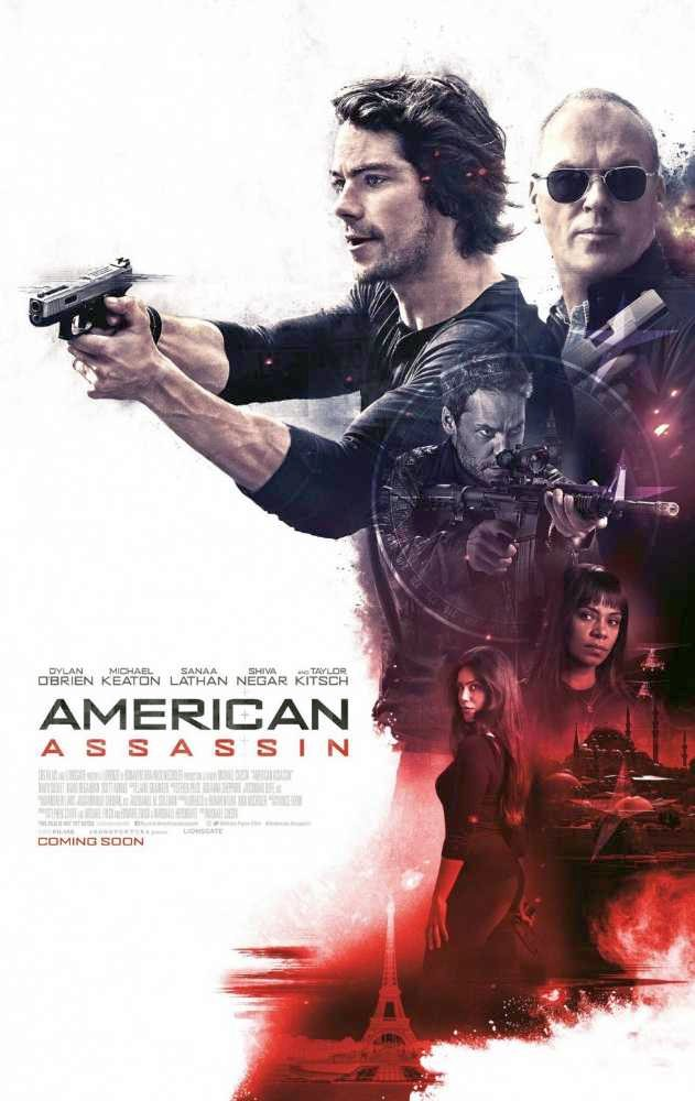 American Assassin Red Band Trailer Featuring Dylan O'Brien, Michael Keaton