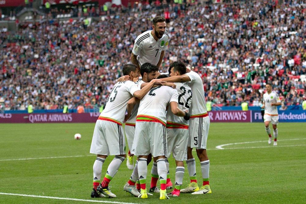 Ver México vs Alemania en vivo semifinal