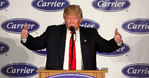 Carrier workers facing layoffs feel betrayed by Pres. Trump