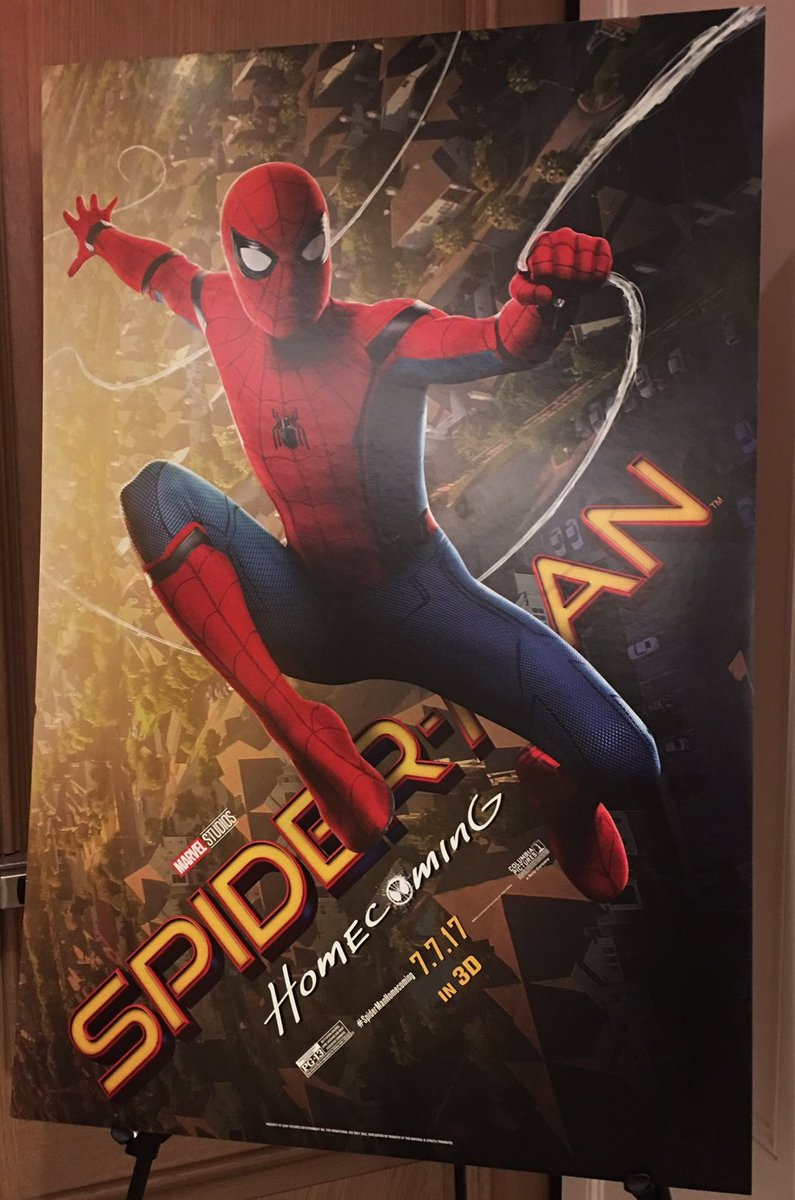 New Spider-Man Homecoming Promotional Posters Swing In