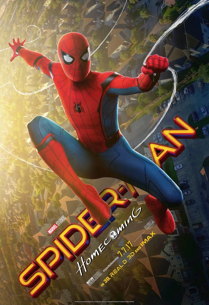 Spider-Man Homecoming Promotional Posters
