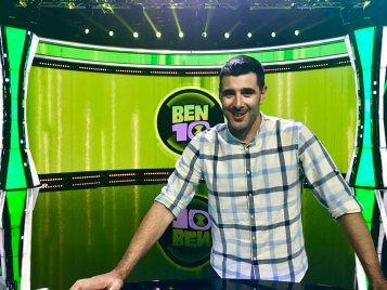 """DAVID AMOR muy pronto en """"Ben 10 Challenge"""""""