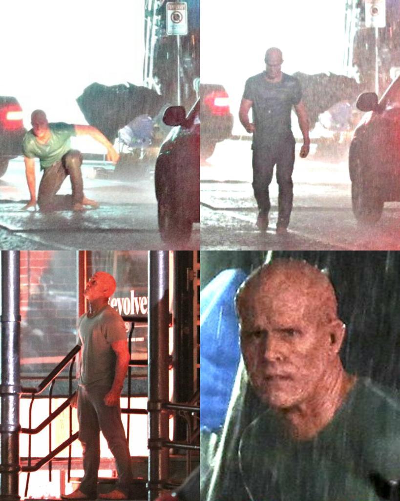 Deadpool 2 Set Photos