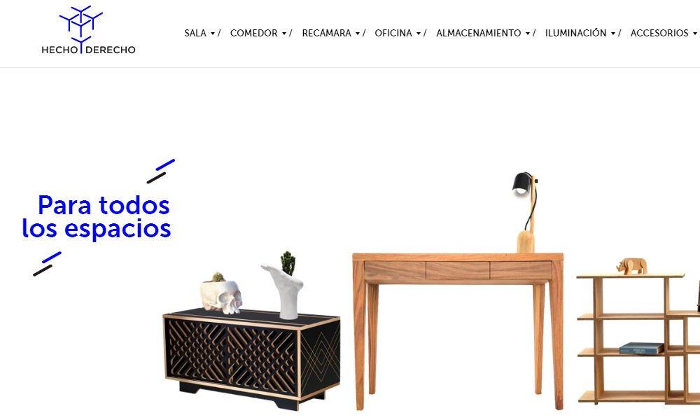 Tienda de muebles en línea: Hecho y derecho
