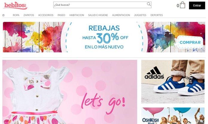 Tiendas para bebé online: Bebitos.mx
