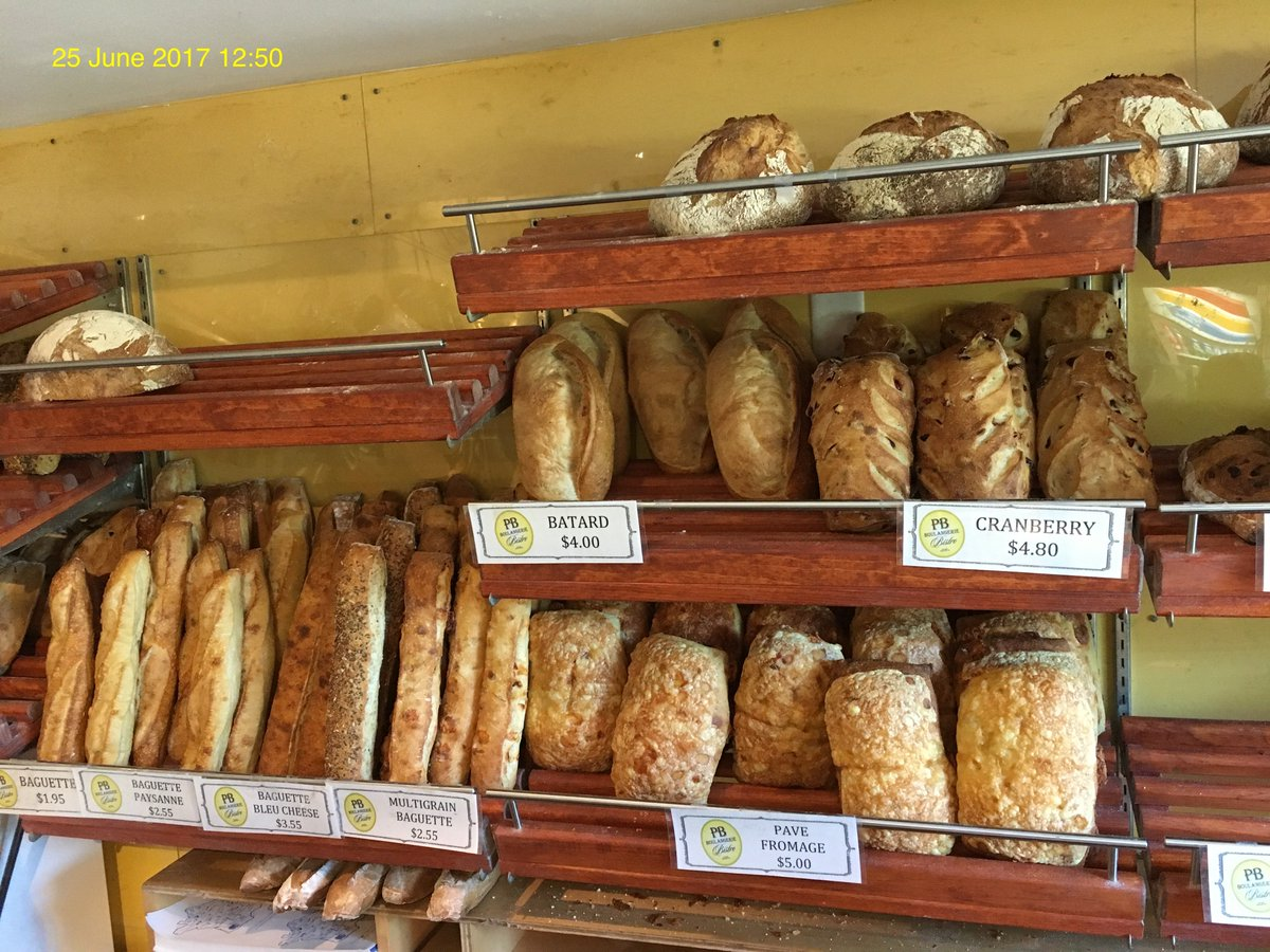 PB Boulangerie bakery & chocolate almond croissant