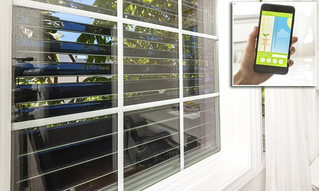 'Smart blinds' can store #solar energy in a battery  #IoT #smarthome #homeautomation