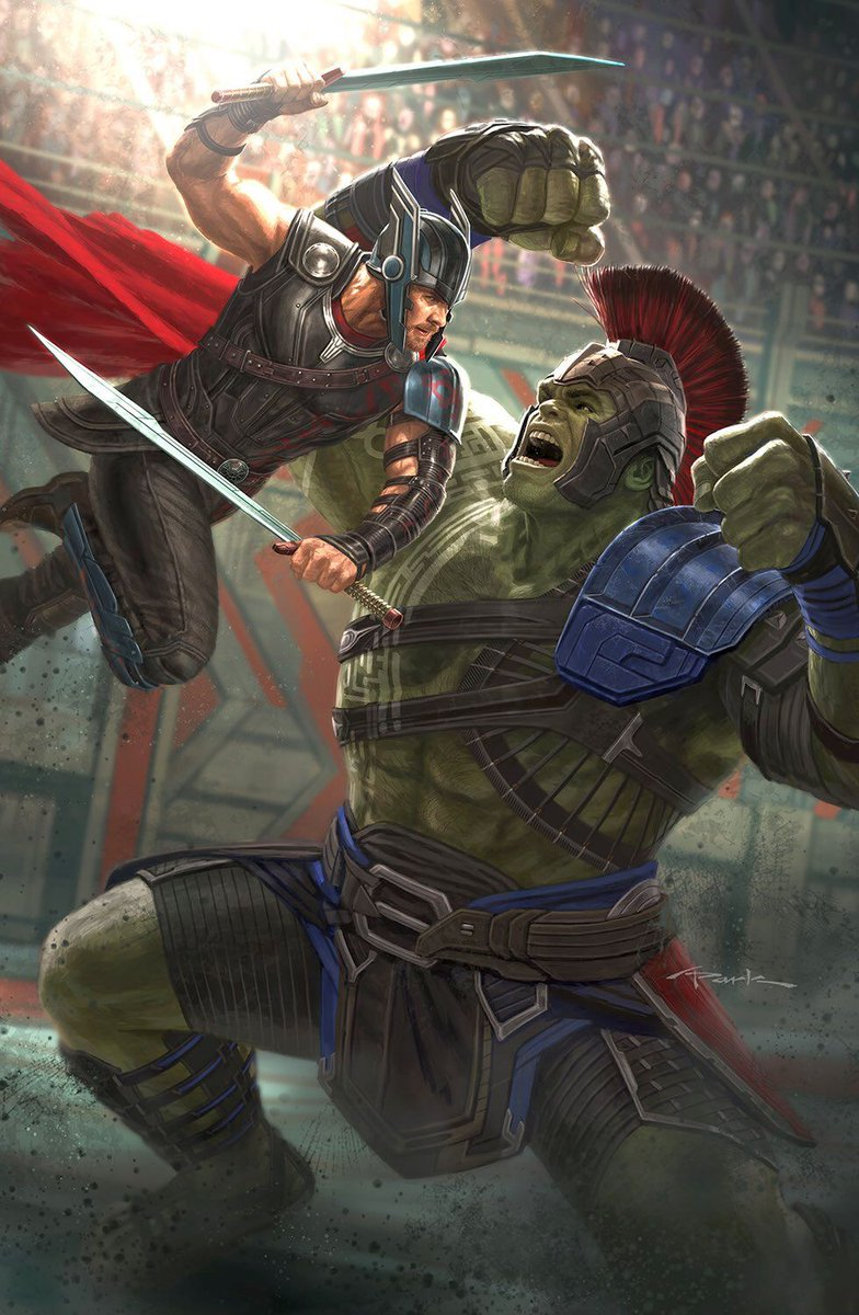 New Thor: Ragnarok Poster Unveiled At D23 Expo