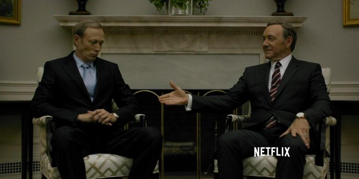 "test Twitter Media - RT @hunterschwarz: Underwood and Petrov in ""House of Cards"" season 3 vs. Trump and Putin IRL https://t.co/IfzXVUkQB7"
