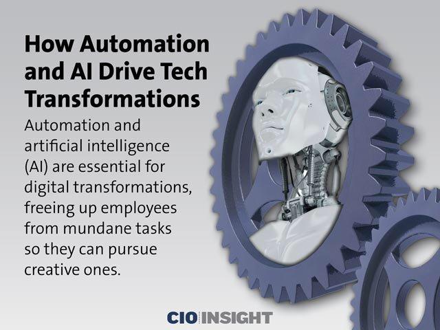 #AI & #Automation Are Key to #Digital Transformations #cio #cdo #postappera -