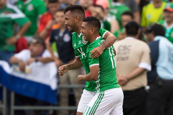 Repetición México contra el Salvador 2017