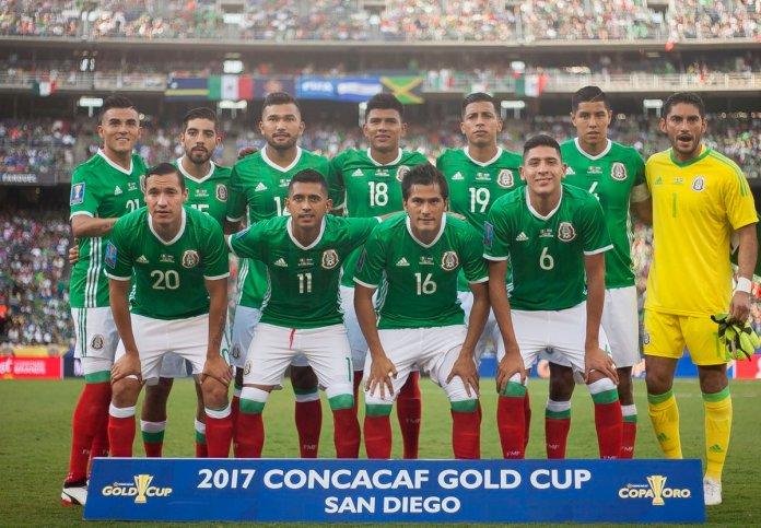 Selección Mexicana goles El Salvador