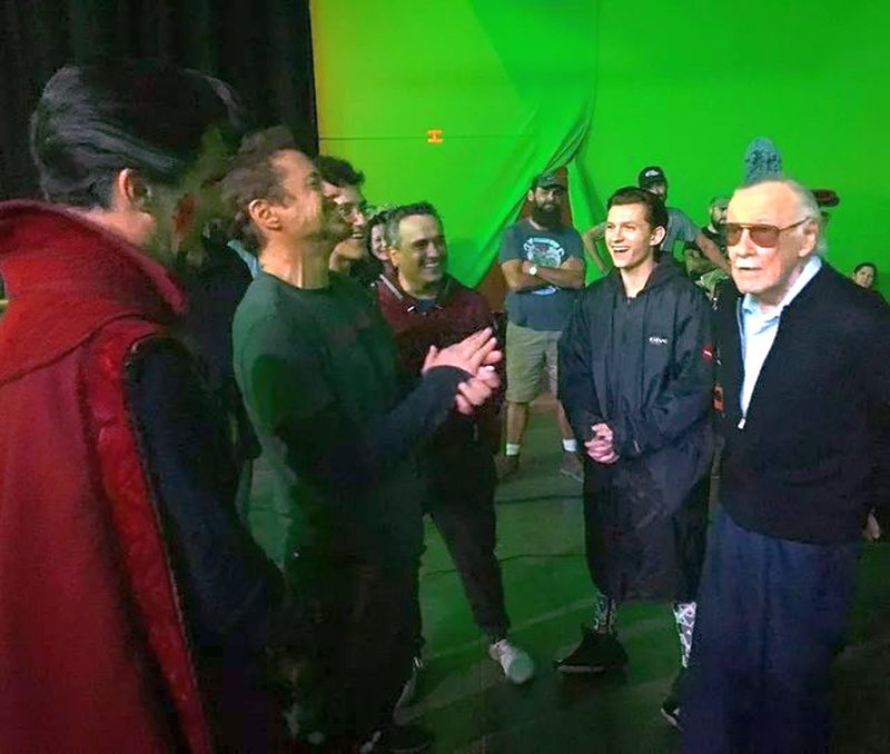 Avengers: Infinity War Set Photos Featuring Paul Rudd, Benedict Cumberbatch & More 1